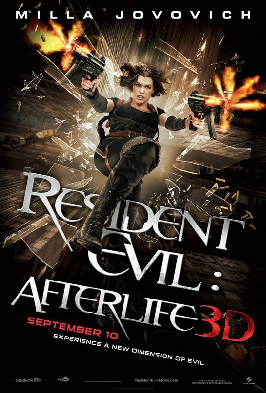 Resident Evil: Afterlife Tomandandy ОБИТЕЛЬ ЗЛА 4