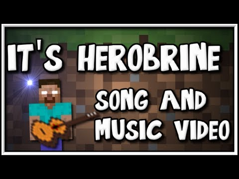"""It's Herobrine"" - Song and video as a tribute to Herobrine."
