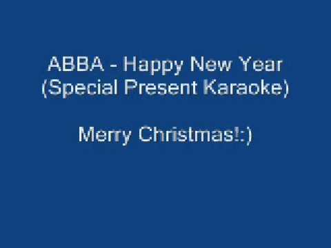 Karaoke - 'Happy New Year' - ABBA
