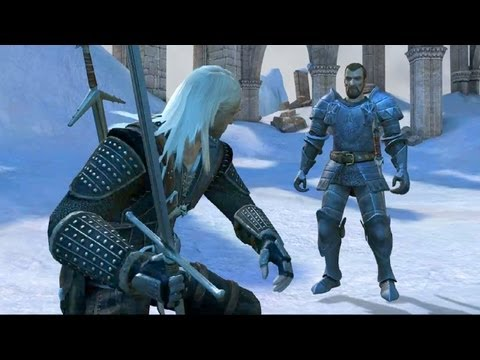 Geralt vs Grand Master & King of the Hunt: The Final Battle Boss Fight (The Witcher 1 Ending)