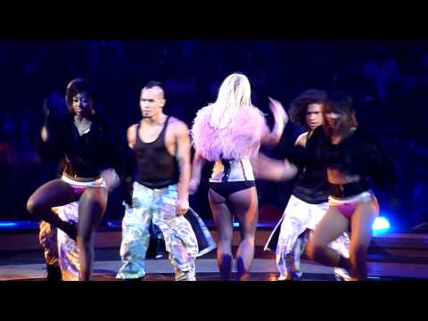 Britney Spears - If U Seek Amy - Staples Center 09/23/09 The Circus Tour 09 Live HD