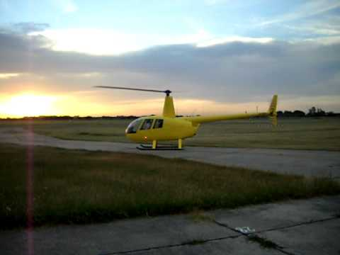 Robinson R44 Take Off