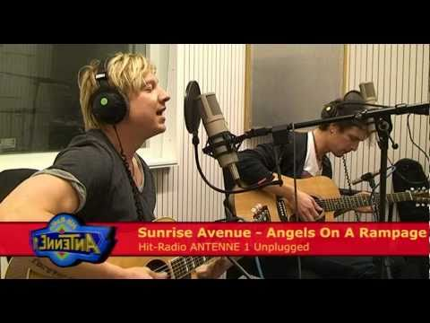 Hit-Radio ANTENNE 1 Unplugged: Sunrise Avenue - Angels On A Rampage