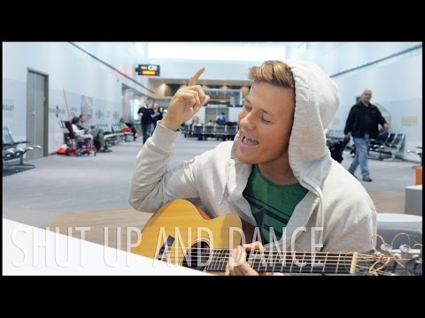 Shut Up and Dance - Walk The Moon (Tyler Ward Acoustic Cover) Music Video With Me