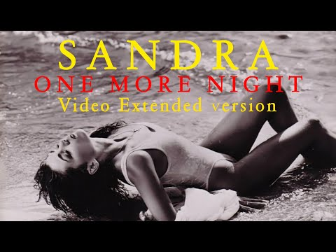 Sandra - One more night (Extended version)