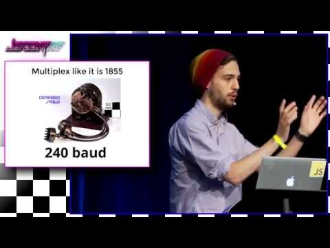 Sam Saccone: Recreating a dialup modem in javascript | JSConf US 2015