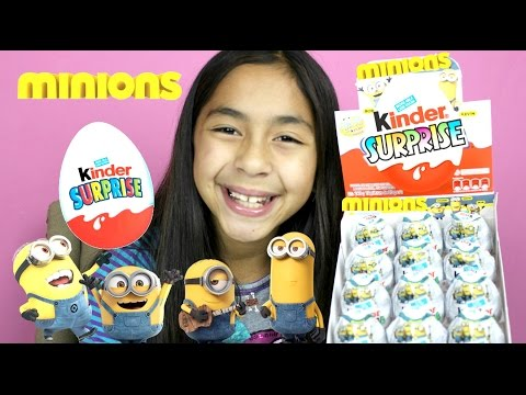 NEW Minions Kinder Surprise Eggs| B2cutecupcakes