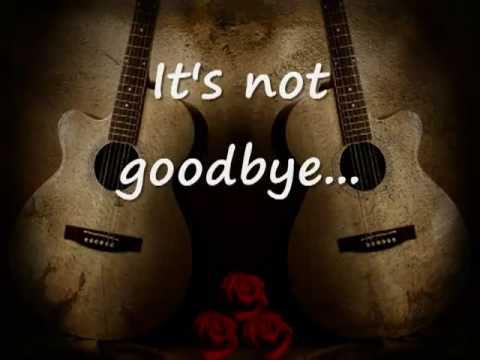 Laura Pausini - It's Not Goodbye lyrics