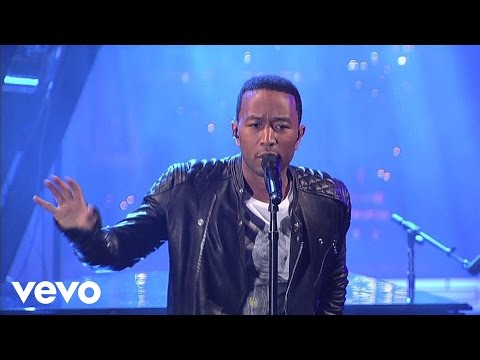 John Legend - Who Did That To You (Live on Letterman)