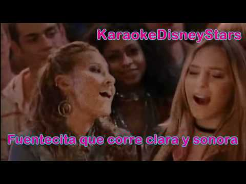 The Cheetah Girls Ft. Belinda - A La Nanita Nana [Instrumental Karaoke]