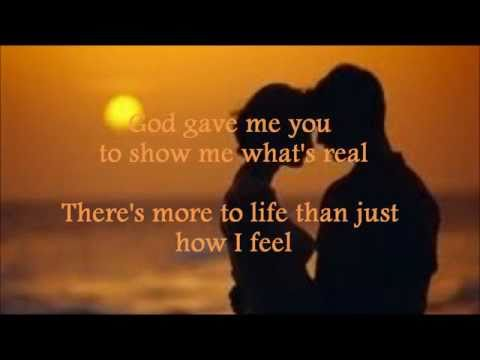 Bryan White - God Gave Me You (Lyrics)