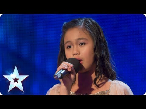 Arisxandra Libantino stuns singing 'One Night Only' - Week 1 Auditions | Britain's Got Talent 2013
