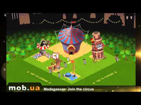 Madagascar Join the circus для Android - mob.ua