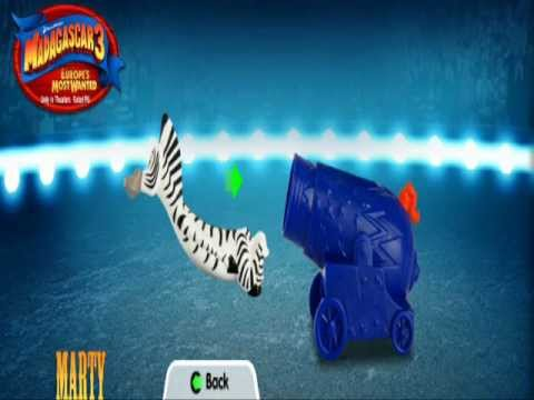 Madagascar 3 2012 McDonalds Happy Meal Toys Demo