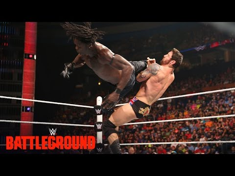 R-Truth vs. King Barrett: WWE Battleground Kickoff 2015