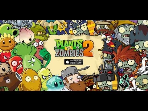 Прохождение Plants vs Zombies 2: It's About Time - Wild West - Save Our Seeds 1-3 [I-III]