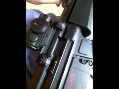 test video of Cyma mp5 electric blowback