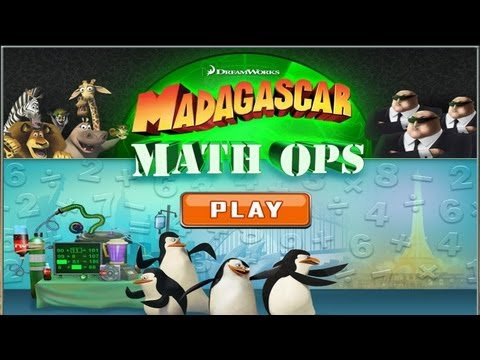 Madagascar Math Ops IOS/Android Gameplay