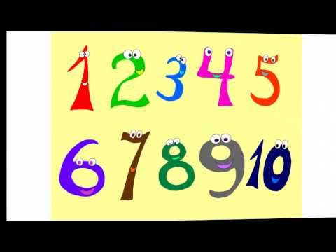 English numbers song for children